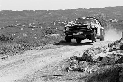 Photo: Fergus McAnallen www.rallyretro.com